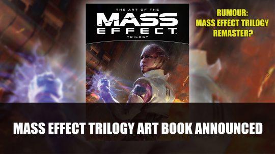 Mass Effect Trilogy Art Book Announced
