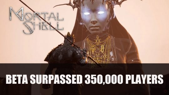 Mortal Shell's Beta Surpassed 350,000 Players