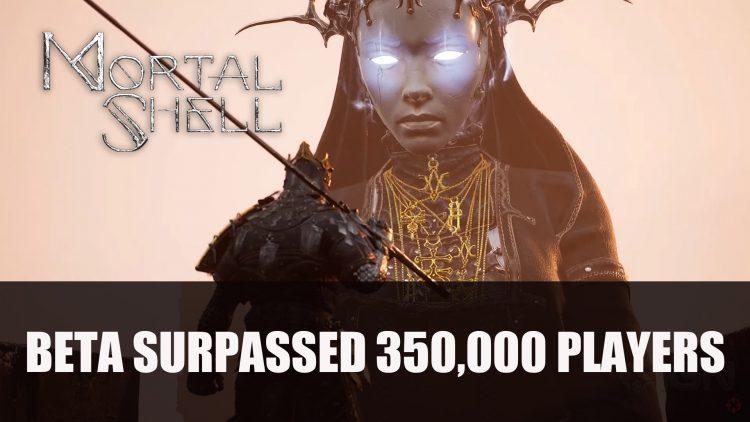 Mortal Shell's Beta Surpassed 350,000 Players