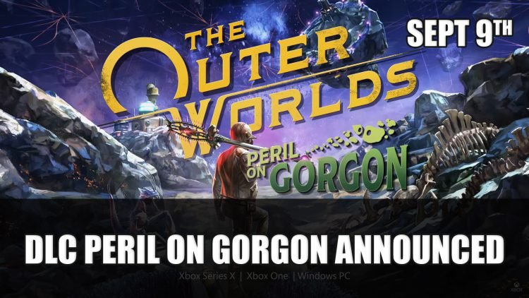 The Outer Worlds: Peril on Gorgon DLC Releases September 9th