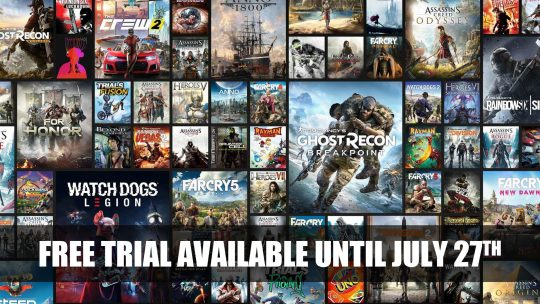Uplay+ Trial Version Available for Free on PC Until July 27th