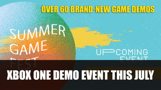 Summer Game Fest Demo Event Coming to Xbox One This July