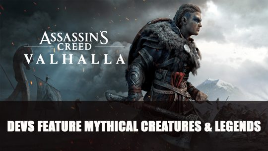 Assassin's Creed Valhalla Gameplay Features Mythical Creatures and Legends