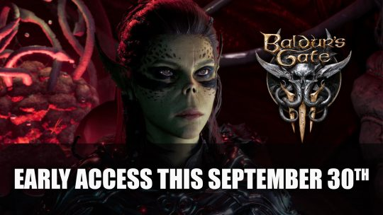 Baldur's Gate 3 Early Access Releases September 30th