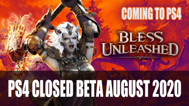 Bless Unleashed Coming to PS4; Closed Beta this August