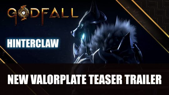 Godfall Gets New Valorplate Teaser for Hinterclaw