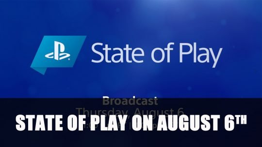 Sony Announces State of Play for This Thursday