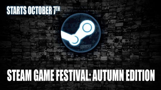 Steam Game Festival: Autumn Edition Starts October 7th
