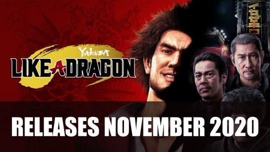 Yakuza: Like a Dragon Releases November 2020