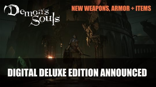Demon's Souls New Weapons & Armor Details for Digital Deluxe Edition