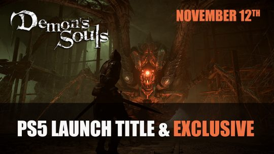 Demon's Souls Announced As PS5 Launch Title; Releases November 12th