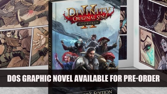 Divinity: Original Sin – Godwoken Graphic Novel Available for Pre-order