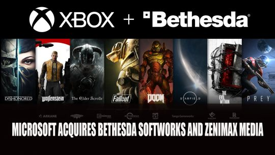 Microsoft Is Acquiring Bethesda Softworks and ZeniMax Media
