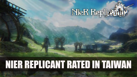 NieR Replicant Rated in Taiwan