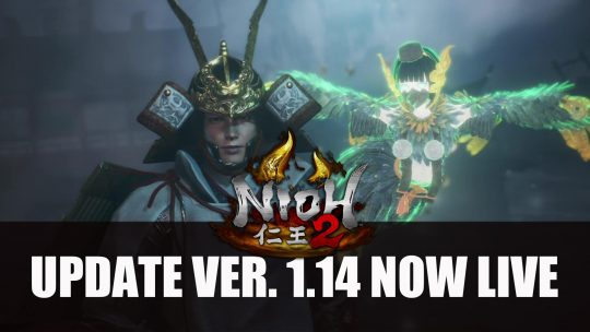 Nioh 2 Version 1.14 Update