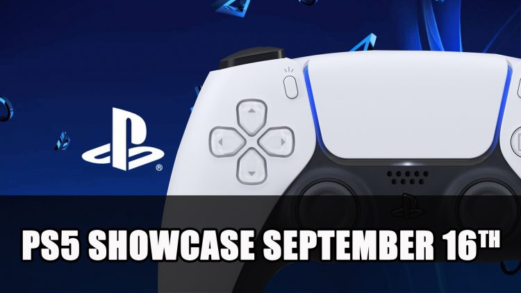 Playstation 5 Showcase Announced for September 16th