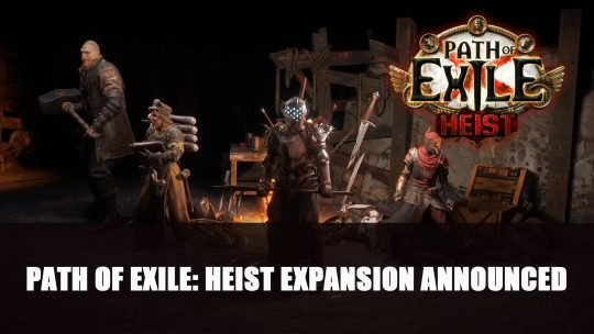 Path of Exile: Heist Expansion Announced