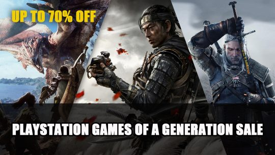 Playstation Games of a Generation Sale