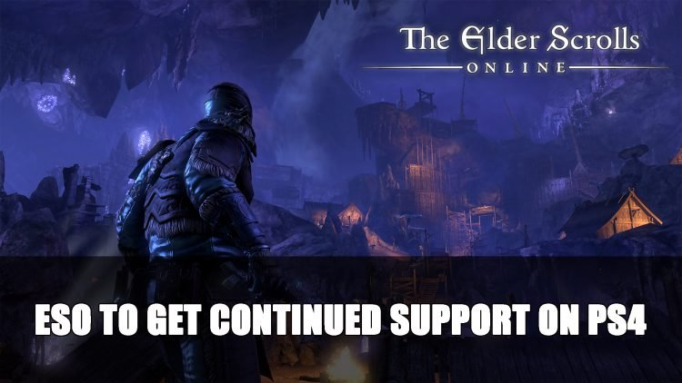 Elder Scrolls Online Will Still Have Continued Support on PS4