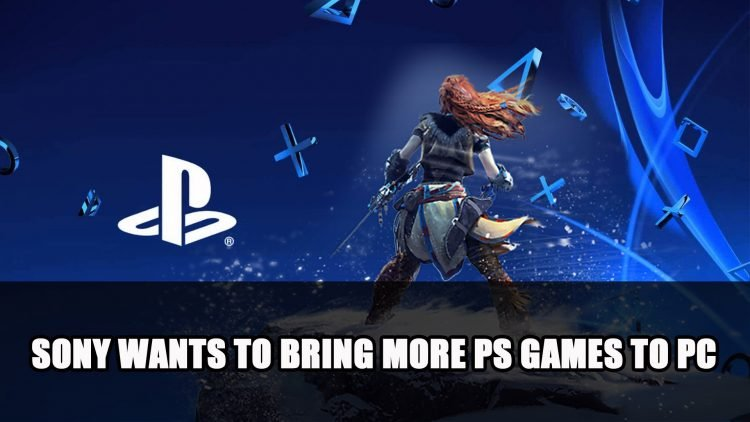 Sony Will Make More First-Party Playstation Games Available on PC
