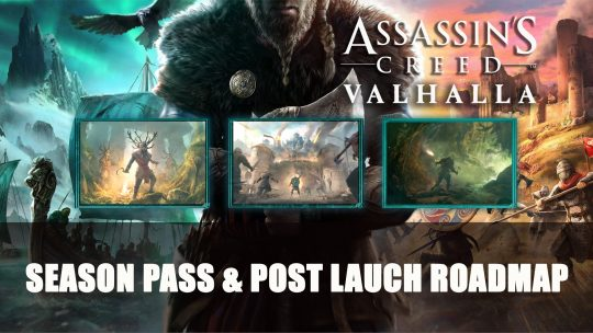 Assassin's Creed Valhalla Season Pass To Feature Ireland, Paris and Beowulf Story Expansions