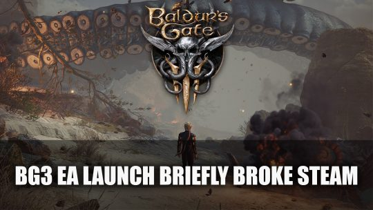 Baldur's Gate 3 Launch on Early Access Briefly Broke Steam