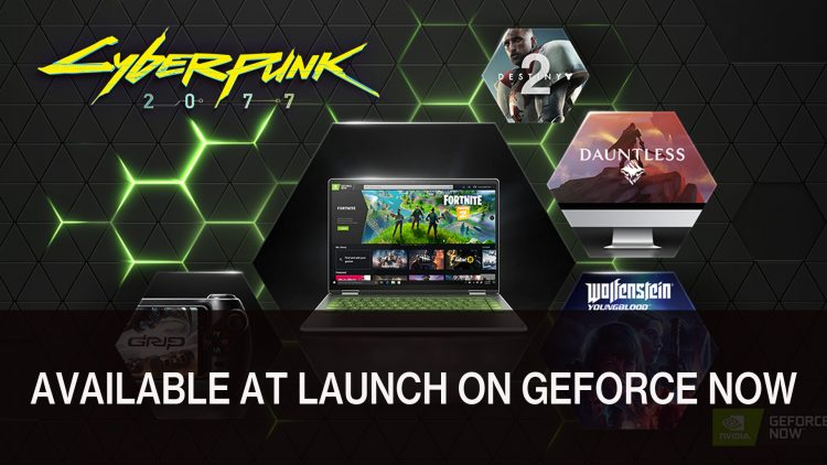 Cyberpunk 2077 Will Be Available at Launch on GeForce Now