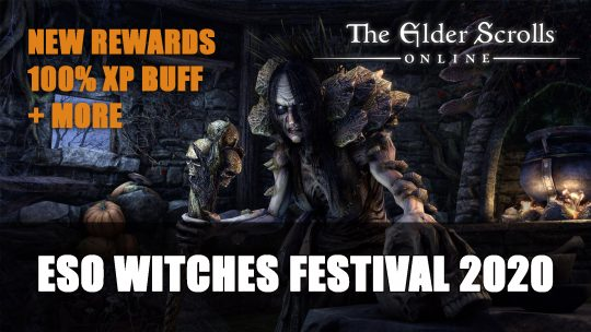 Elder Scrolls Online Witches Festival 2020