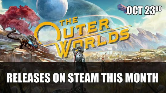 The Outer Worlds Is Coming to Steam October 23rd