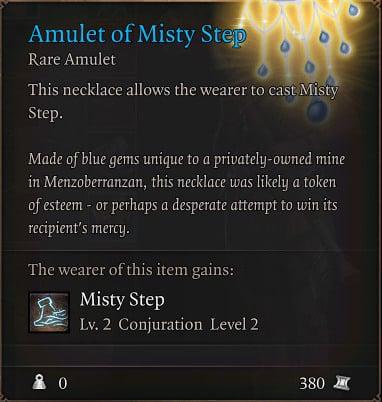 baldurs-gate-3-builds-ranger-hunter-class-guide-amulet-of-misty-step