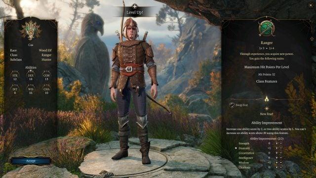 baldurs-gate-3-builds-ranger-hunter-class-guide-attributes