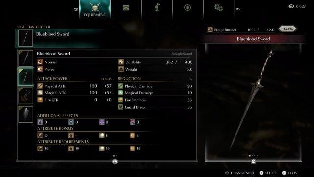 demons-souls-build-guide-blueblood-sword-weapon