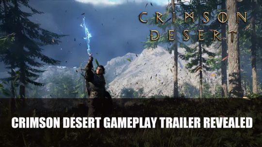 Crimson Desert Gets Gameplay Trailer at TGA 2020
