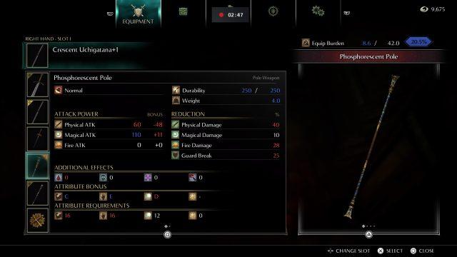 demons-souls-build-guide-homing-soul-samurai-phosphorescent-pole