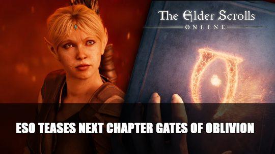 Elder Scrolls Online Teases Next Chapter Gates of Oblivion