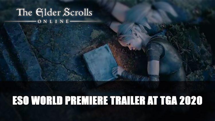 Elder Scrolls Online World Premiere Trailer at TGA 2020