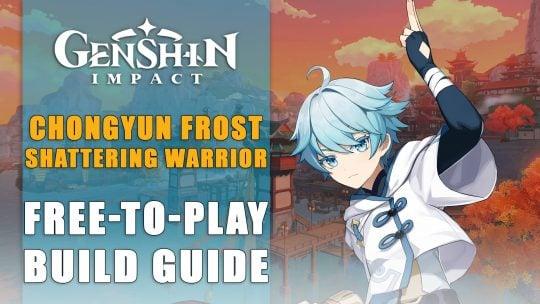 Genshin Impact Build: Chongyun, Frost Shattering Warrior – Free To Play Guide