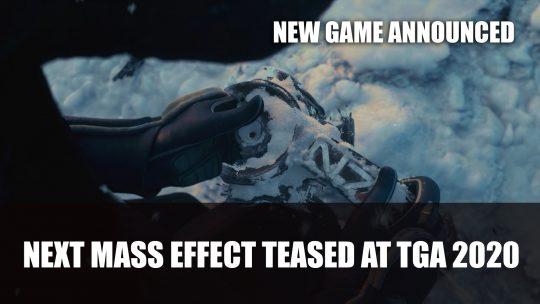 Bioware Teases Next Mass Effect Game at TGA 2020