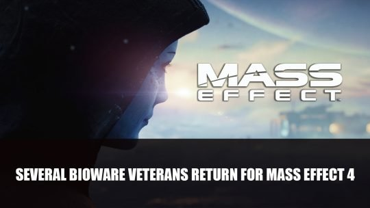 Bioware Confirms Several Veterans Have Returned for Mass Effect 4