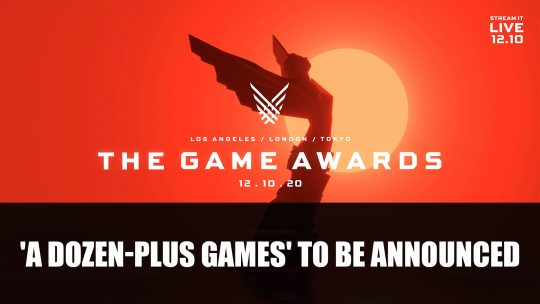 The Games Awards 2020 Will Feature 'A Dozen-Plus Games' To Be Announced