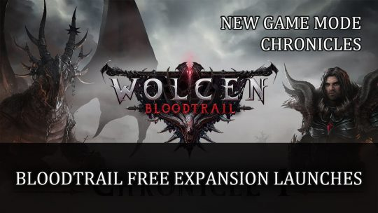 Wolcen: Bloodtrail Free Expansion Launch and Trailer