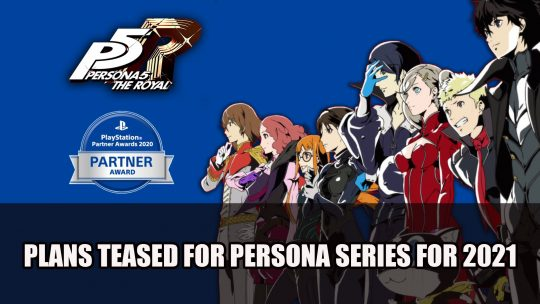 "Persona Producer Teases ""Exciting Plans"" For The Series 25th Anniversary in 2021"