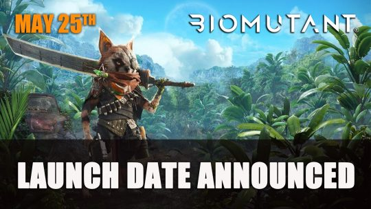 BioMutant Launches on May 25th