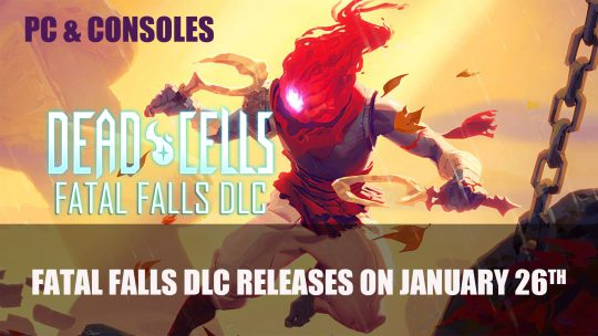 Dead Cells: Fatal Falls Releases on PC and Consoles on January 26th