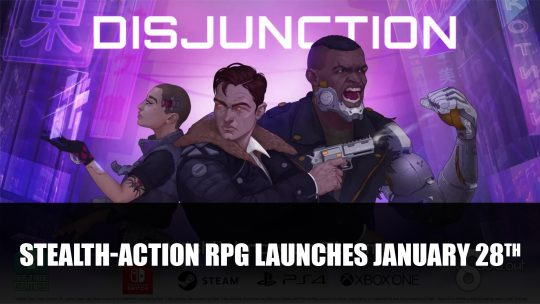 Disjunction Launches January 28th
