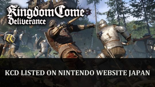 Kingdom Come Deliverance Royal Edition Listed for Nintendo Switch Japan