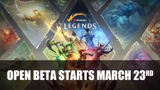 Magic: Legends Enters PC Open Beta on March 23rd