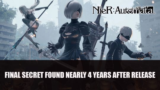 NieR: Automata Final Secret Found Nearly 4 Years After Release