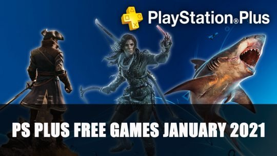 Playstation Plus Free Games Announced for January 2021