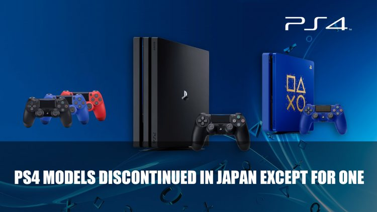 Sony Interactive Entertainment to End Production of All PS4 Models Except One in Japan